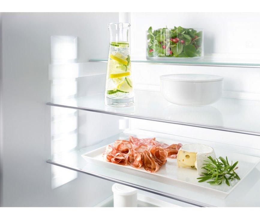De Liebherr IKP1664 inbouw koelkast heeft verstelbare leggers, flexibele indeling!