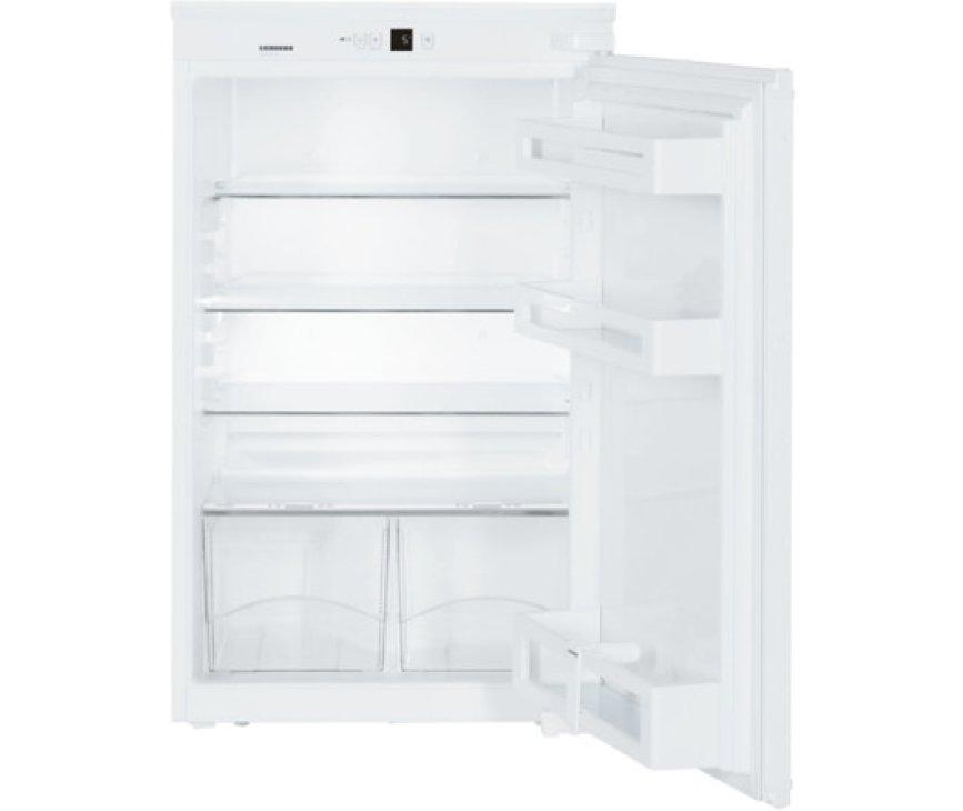 Het interieur van de Liebherr IKS1620 inbouw koelkast
