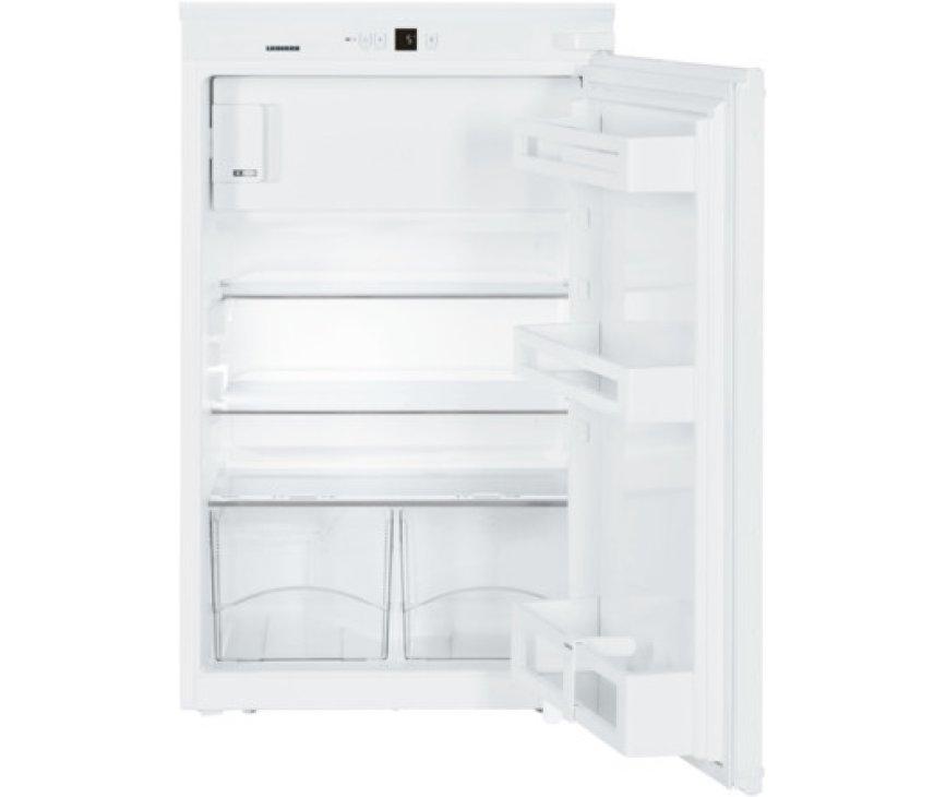 Het interieur van de Liebherr IKS1624 inbouw koelkast