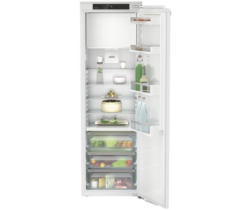 Liebherr IRBe5121-20 inbouw koelkast met BioFresh en vriesvak - nis 178 cm.
