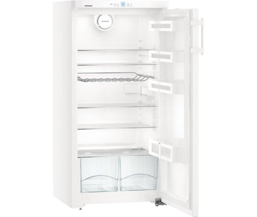 De Liebherr K2630 koelkast kastmodel heft een ruime inhoud van 248 liter