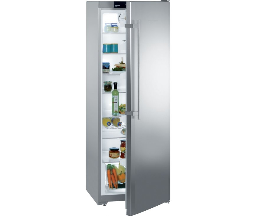 Foto van de LIEBHERR koelkast KPesf4220 uitgevoerd met roestvrijstalen deur