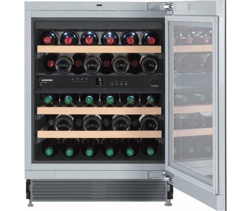 Liebherr Liebherr UWT1682 onderbouw wijn koelkastUWT1682 onderbouw wijnkoelkast