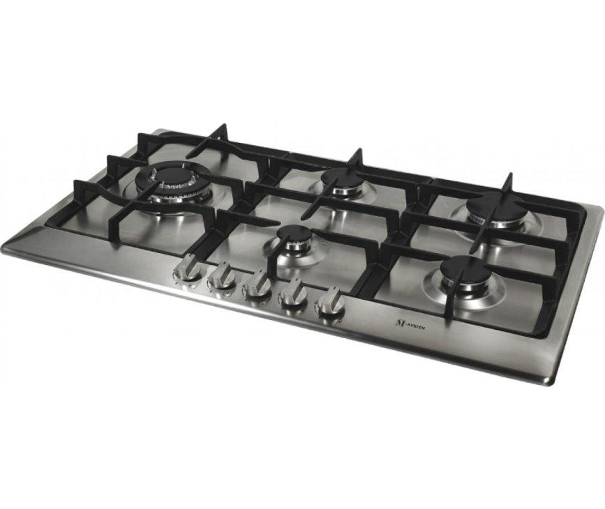 M-System MGKWT75IX inbouw kookplaat