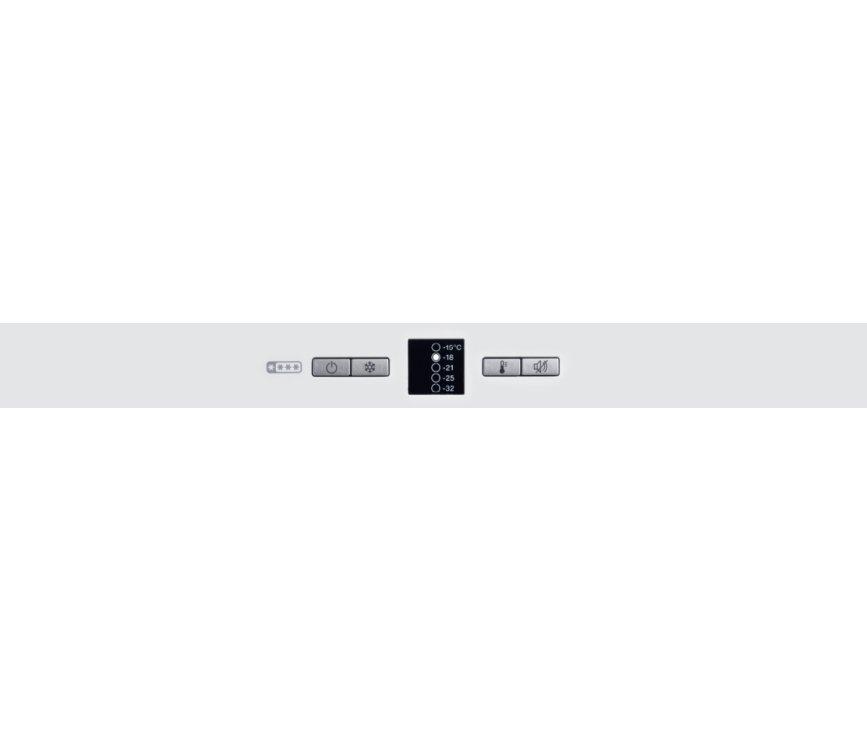 Bedieningspaneel van de MIELE vrieskast FN 22062 S