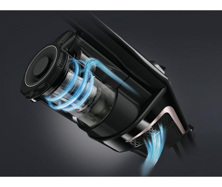 Miele Triflex HX1 Select zwarte stofzuiger - zonder zak - accu