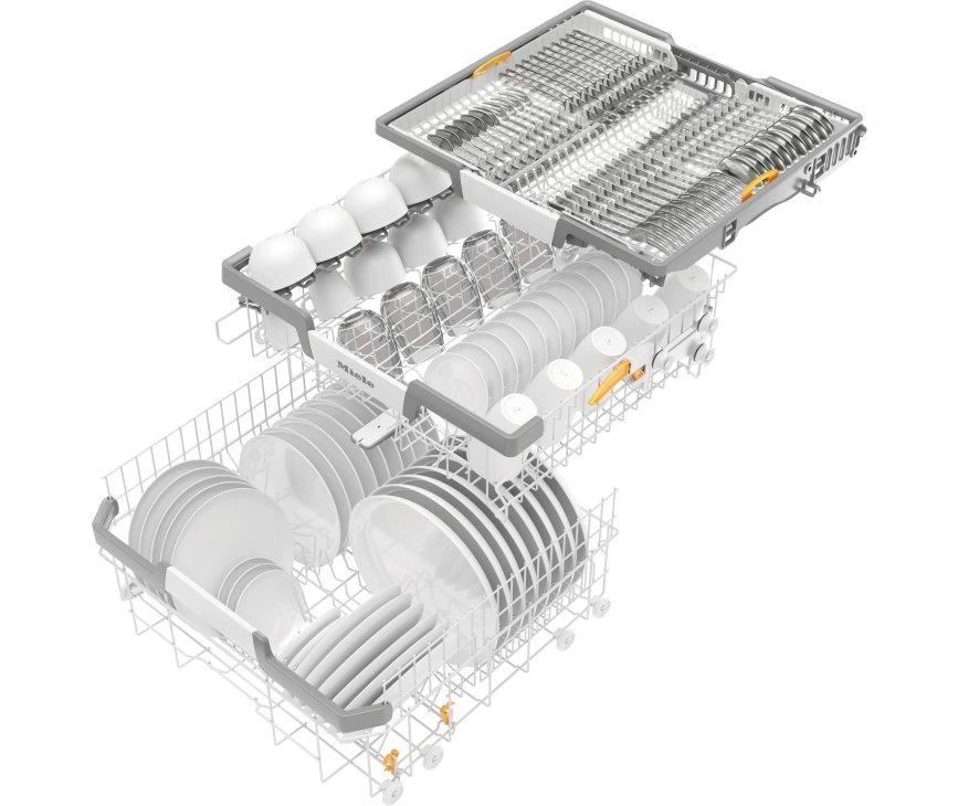 Miele G7110 SC AutoDos vrijstaande vaatwasser met besteklade