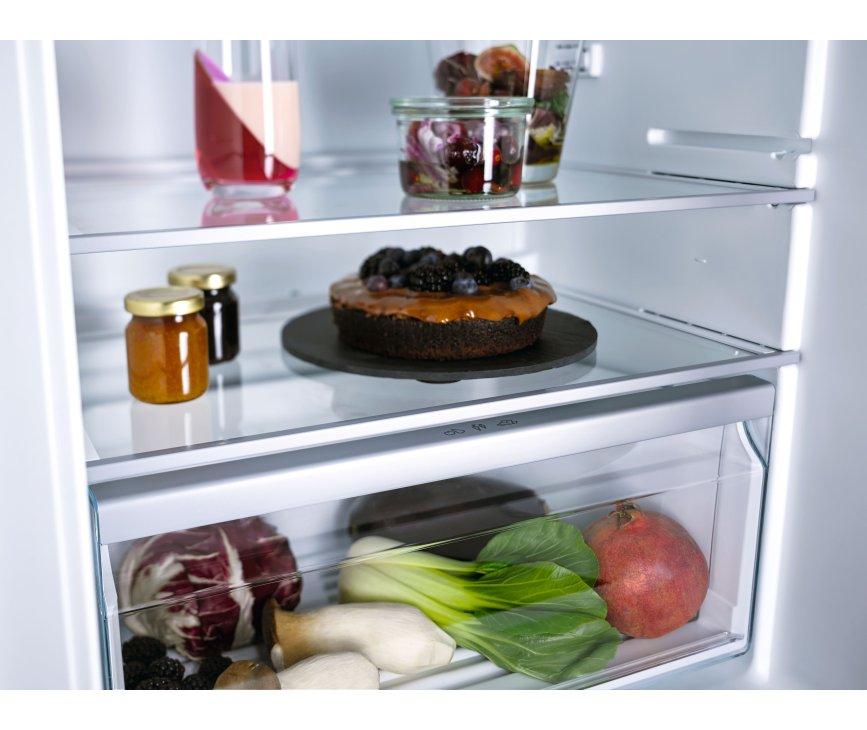 Miele K 7303 D inbouw koelkast - nis 122 cm - deur-op-deur