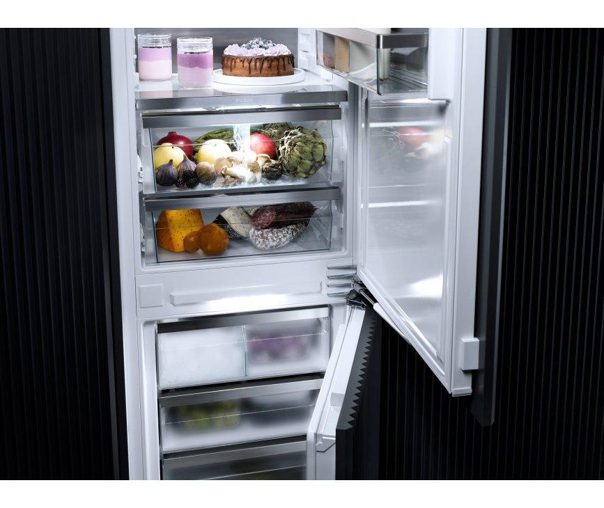 Miele KF 7731 E inbouw koelkast met DynaCool - nis 178 cm.