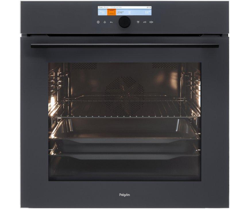 PELGRIM oven inbouw antraciet OVM836ANT