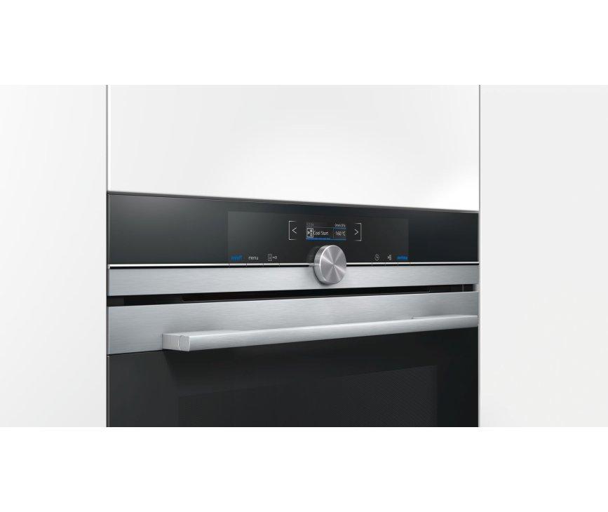 SIEMENS oven met magnetron HM633GNS1