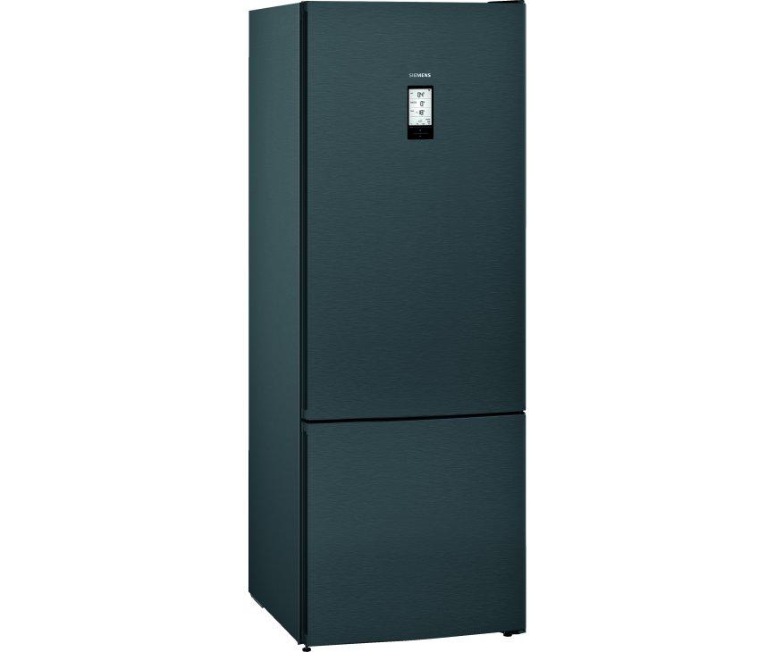 Siemens KG56FPXCA blacksteel koelkast