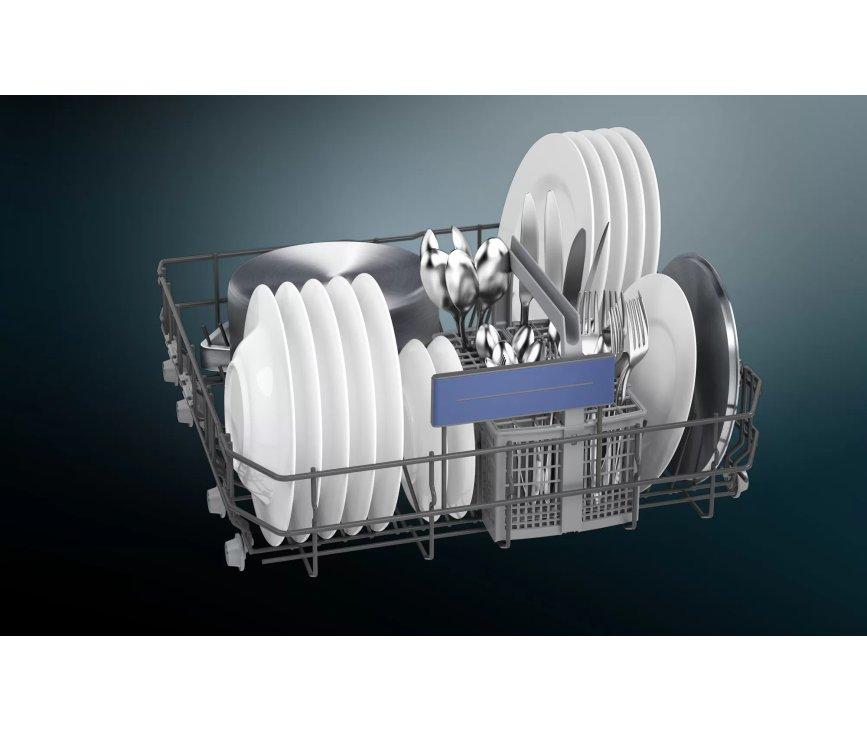 Siemens SE43HS36TE onderbouw vaatwasser - rvs-front