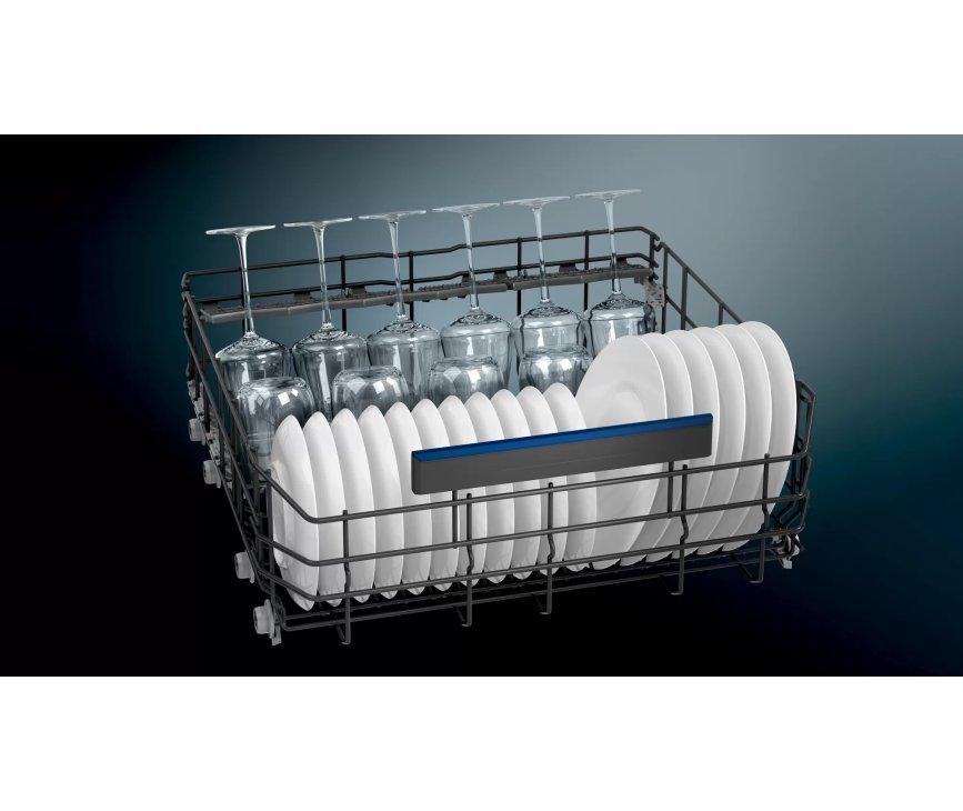 Siemens SL73HX60CE verhoogde inbouw vaatwasser met sleepdeur en besteklade