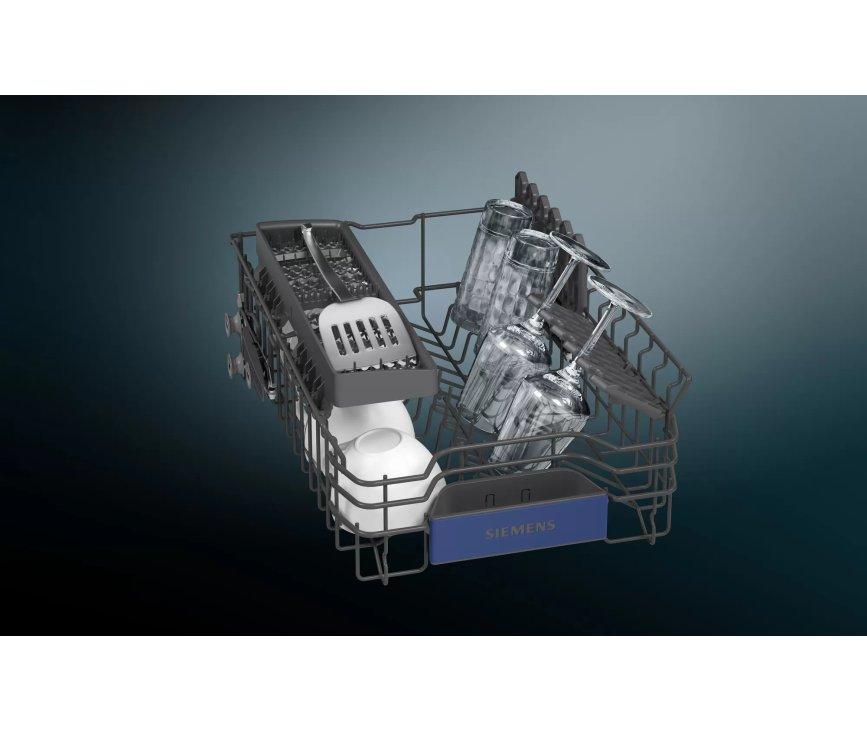 Siemens SP53HS64KE smalle inbouw vaatwasser - 45 cm - half geintegreerd