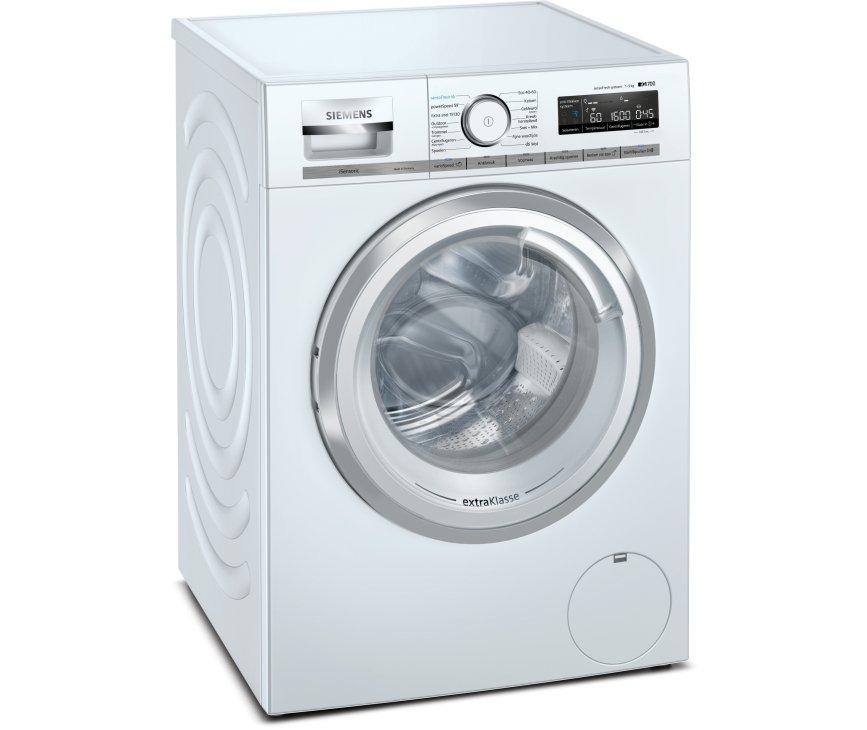 Siemens WM6HXL91NL wasmachine met sensoFresh en HomeConnect