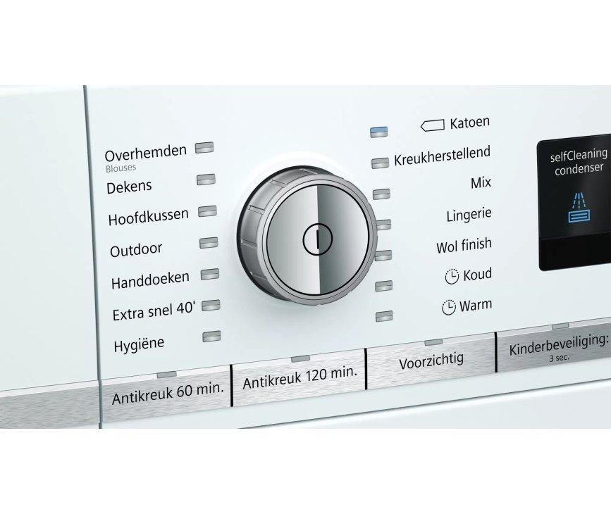 Siemens WT47W5E7NL warmtepomp droger
