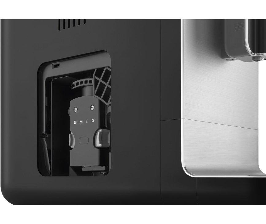 Smeg BCC01BLMEU volautomatische koffiemachine - mat zwart - retro jaren 50