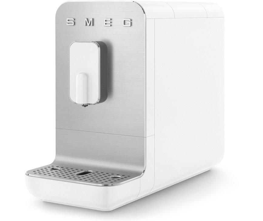 Smeg BCC01WHMEU volautomatische koffiemachine - mat wit - retro jaren 50