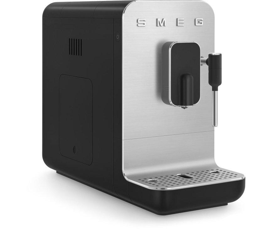 Smeg BCC02BLMEU volautomatische koffiemachine - mat zwart - retro jaren 50
