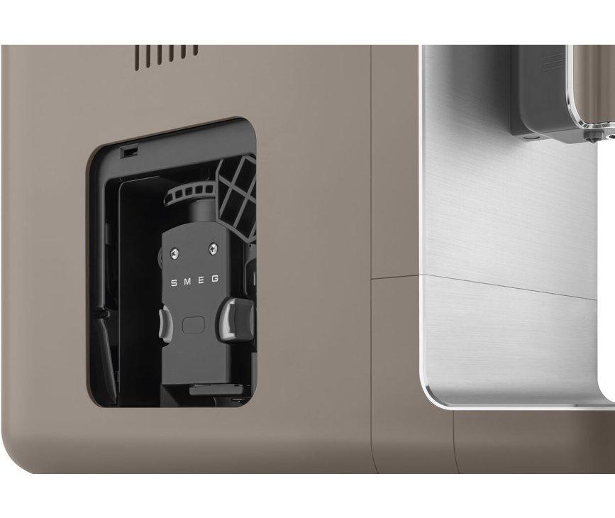 Smeg BCC02TPMEU volautomatische koffiemachine - mat taupe - retro jaren 50