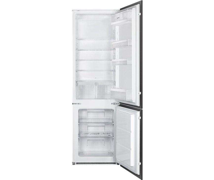 Smeg C4172F inbouw koelkast - nis 178 cm.