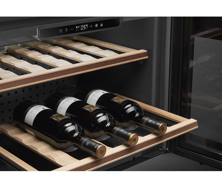 Smeg CVI321X3 inbouw wijnkoelkast - nis 45 cm. - Classici