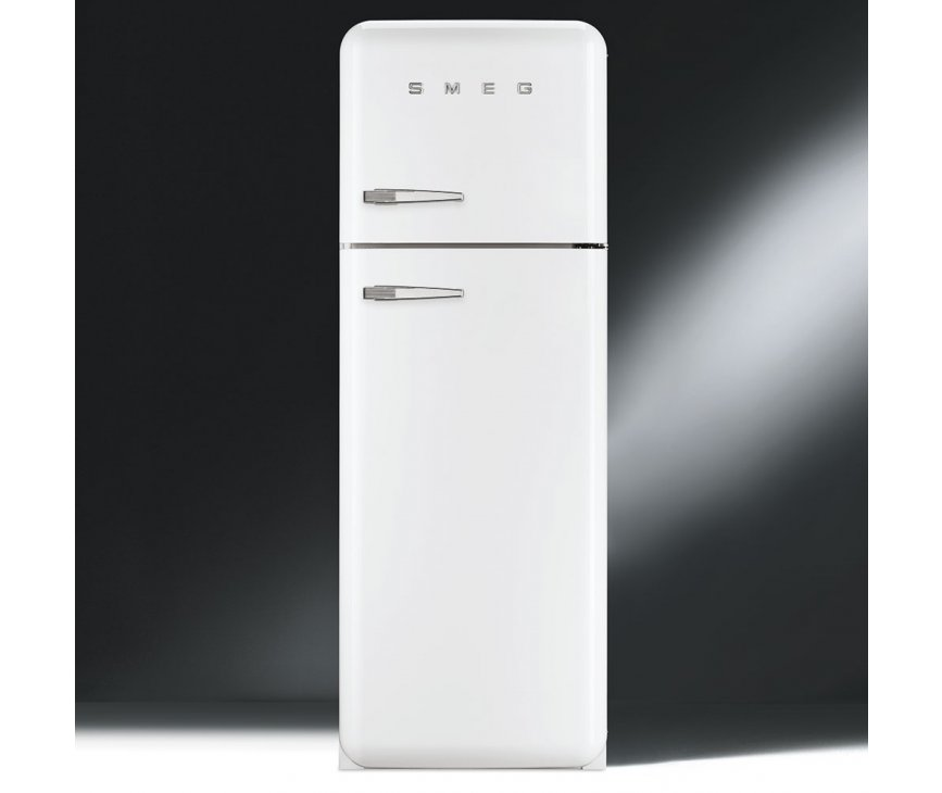 Smeg FAB30RB1 retro koelkast wit - rechtsdraaiend