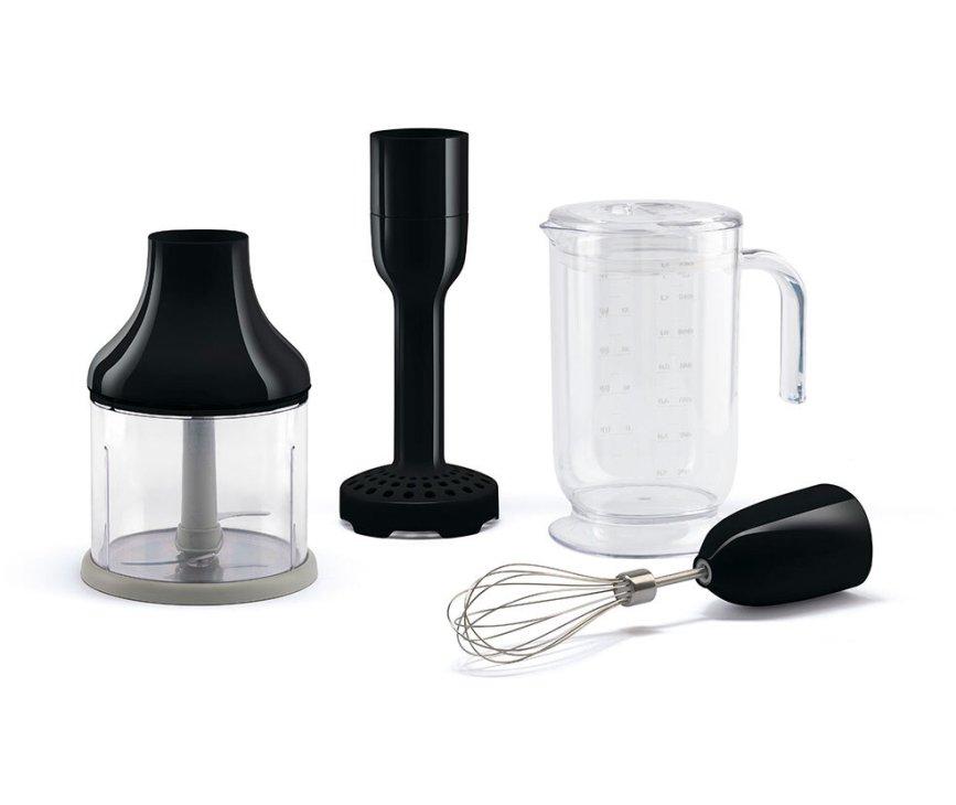 Smeg HBAC01BL accessoire set voor staafmixer - zwart