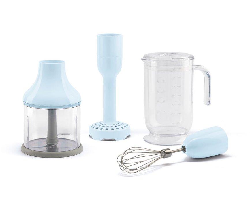 Smeg HBAC01PB accessoire set voor staafmixer - pastelblauw