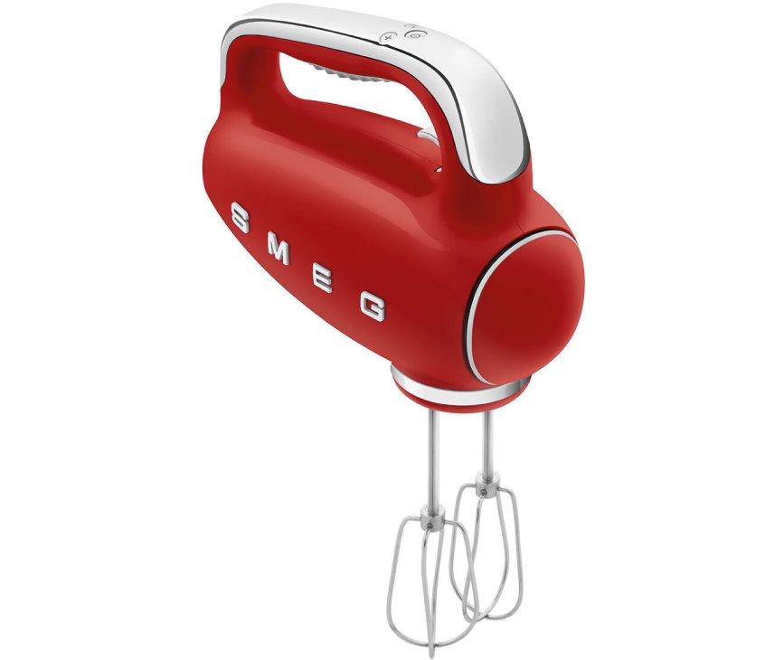 Smeg HMF01RDEU retro jaren 50 hand mixer - rood
