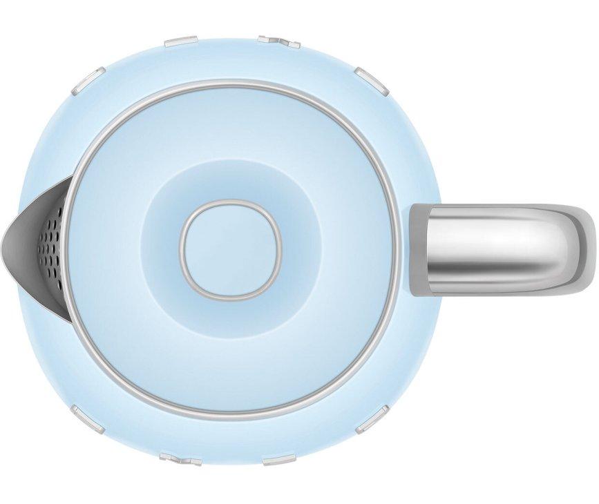 Smeg KLF05PBEU retro jaren '50 waterkoker - pastelblauw
