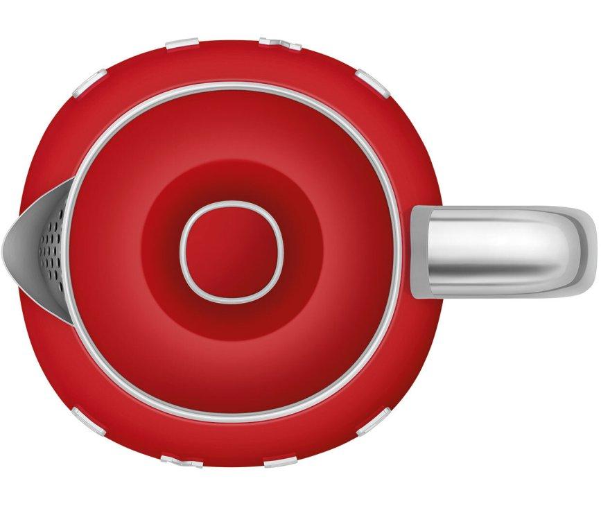 Smeg KLF05RDEU retro jaren '50 waterkoker - rood