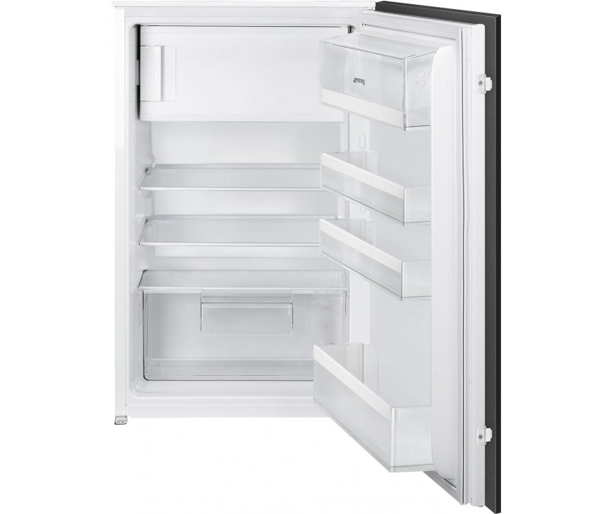 Smeg S4C092F inbouw koelkast met vriesvak - nis 88 cm