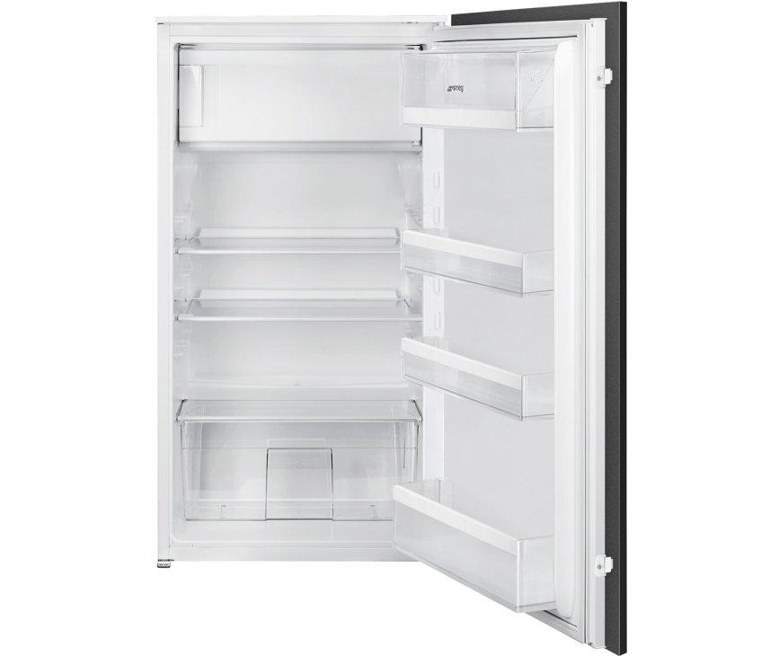 Smeg S4C102F inbouw koelkast met vriesvak - nis 102,5 cm.