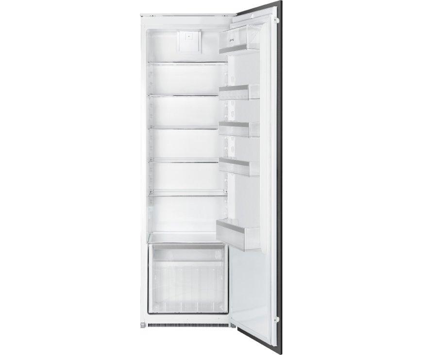 Smeg S8L1721F inbouw koelkast - nis 178 cm.