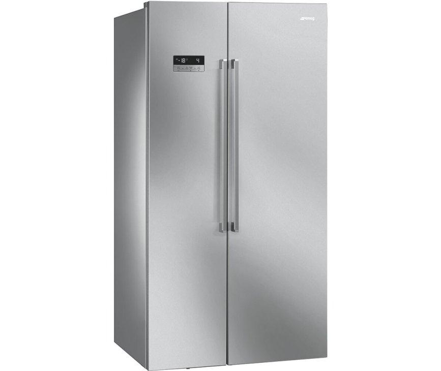 Smeg SBS63XDF side-by-side koelkast - rvs-look
