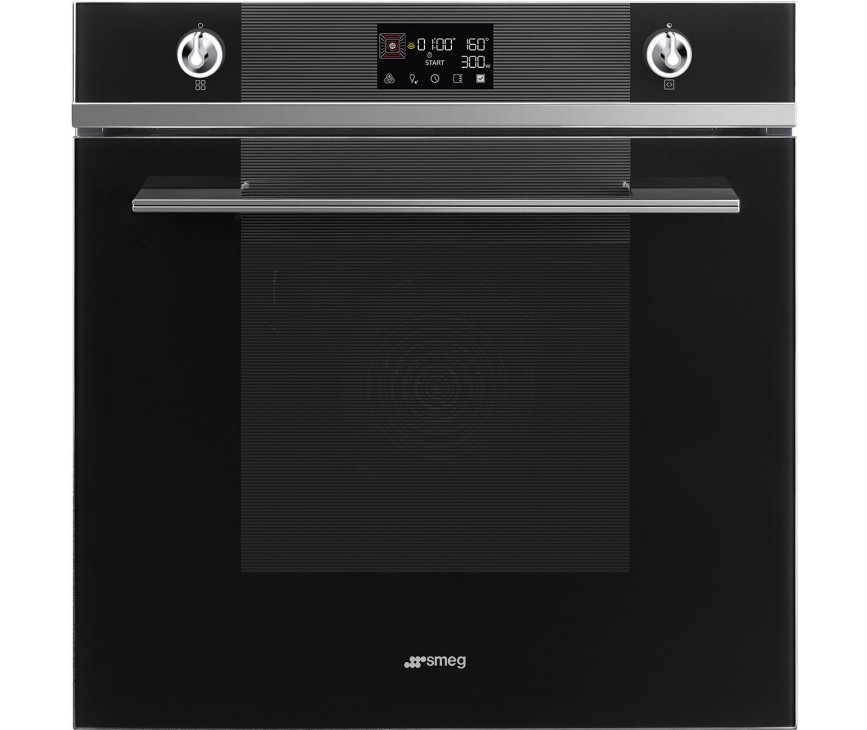 Smeg SO6102M2N inbouw oven met magnetron - Linea - nis 60 cm.