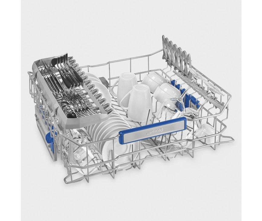 Smeg STL67221 inbouw vaatwasser - 47 dB