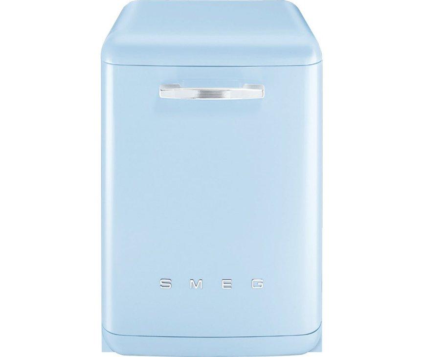Smeg BLV2AZ2 blauwe retro vaatwasser