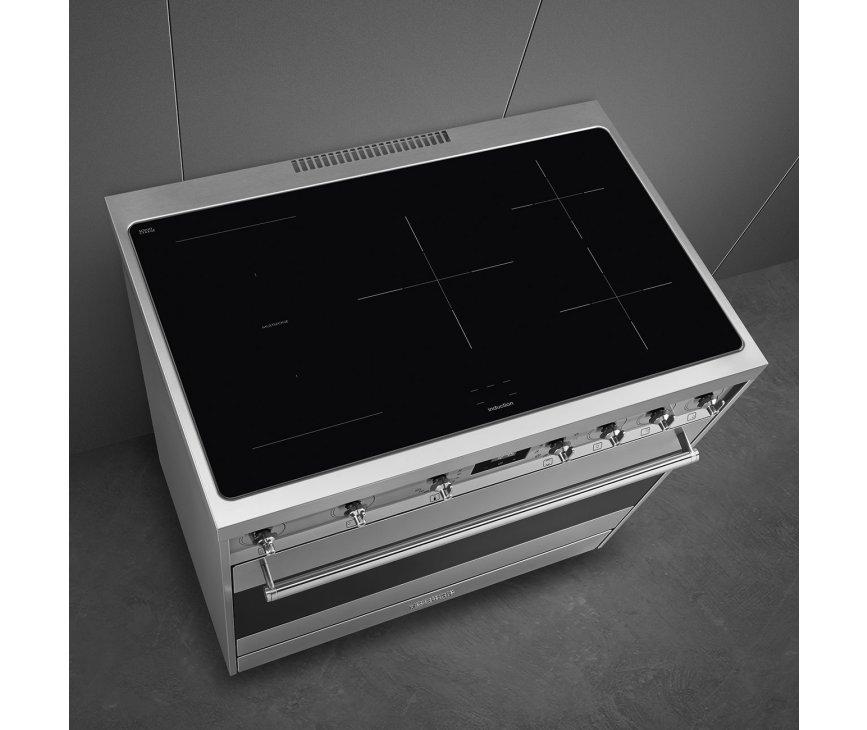 Smeg C9CIMX9-1 inductie fornuis