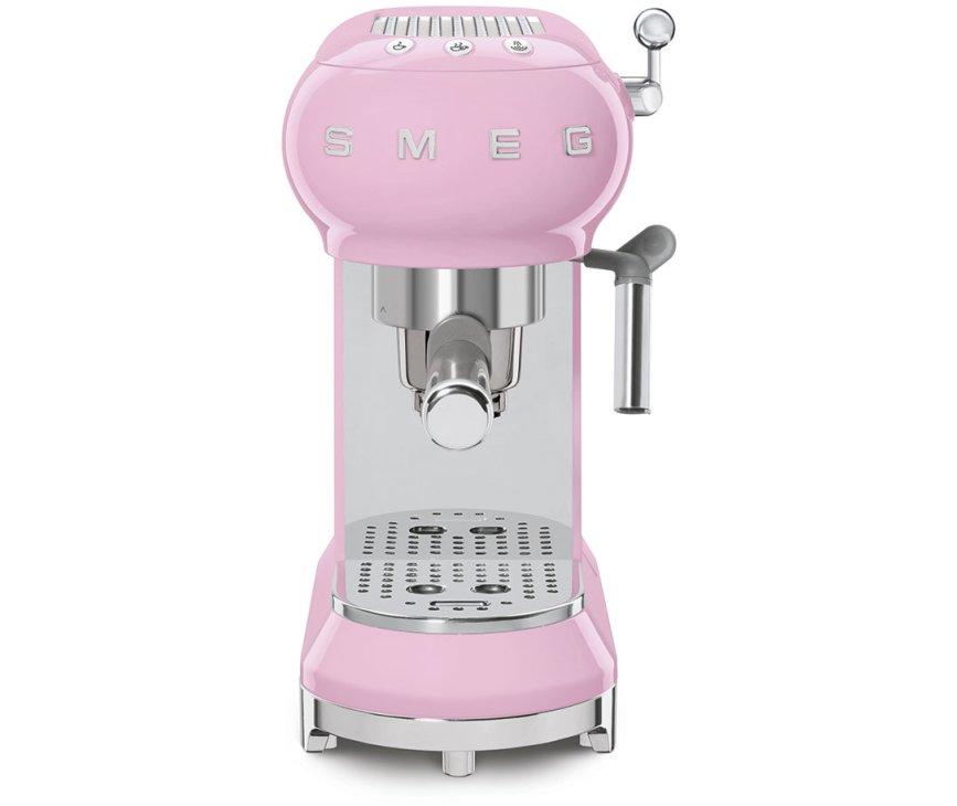 Smeg ECF01PKEU espresso koffiemachine roze