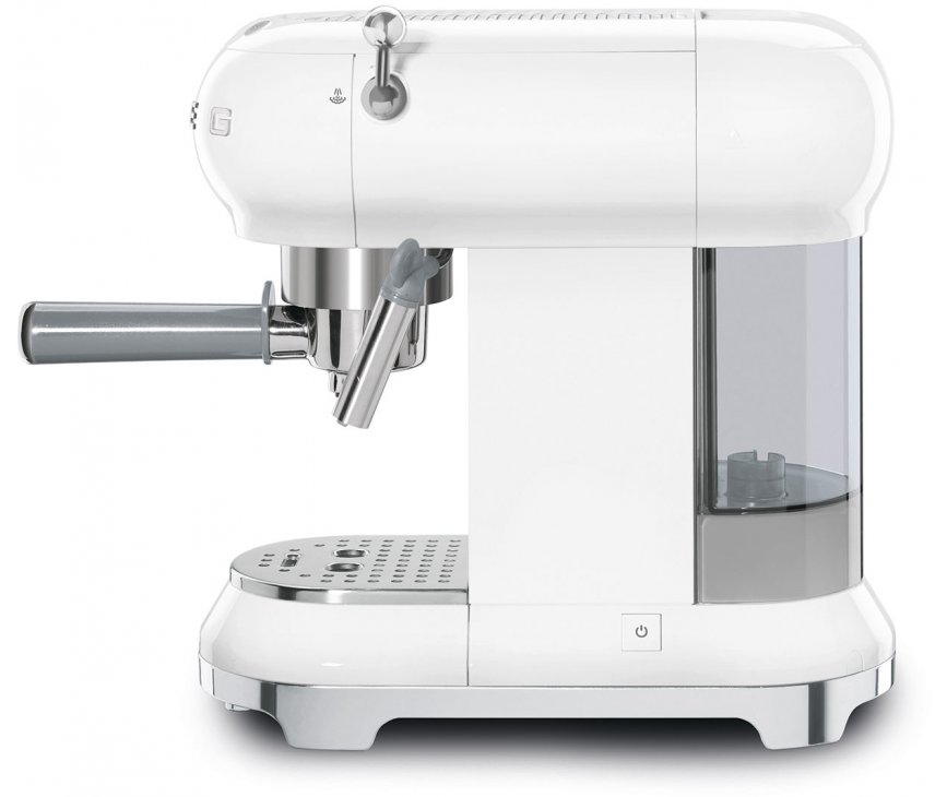 Smeg ECF01WHEU espresso koffiemachine - wit