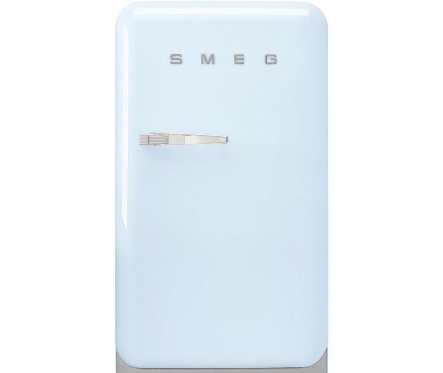 Smeg FAB10HRPB5 pastelblauwe koelkast - rechtsdraaiend
