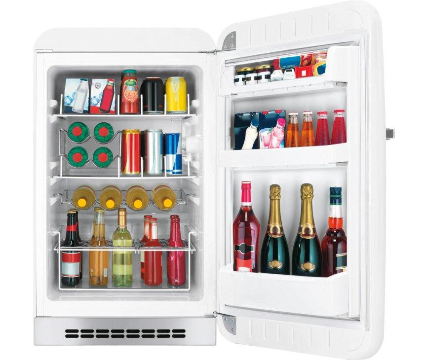 Smeg FAB10HRWH5 witte koelkast - rechtsdraaiend