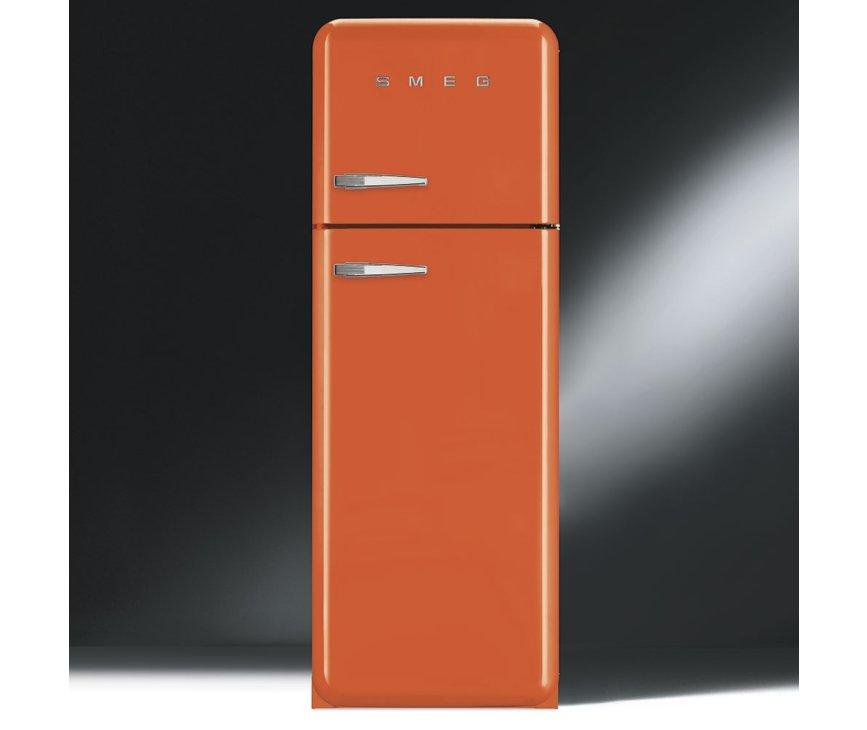 Smeg FAB30RO1 oranje koelkast - rechtsdraaiend - outlet