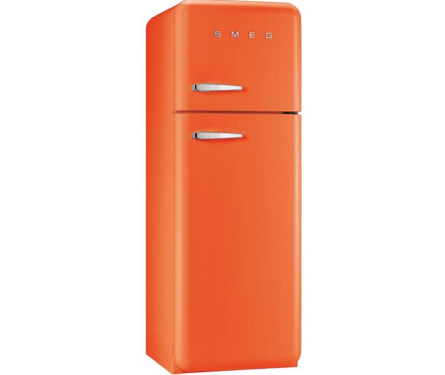 Smeg FAB30RO1 oranje koelkast - rechtsdraaiend