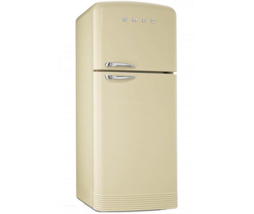 Smeg FAB50P koelkast creme - rechtsdraaiend
