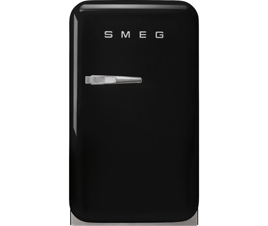 Smeg FAB5RBL5 zwarte retro jaren 50 koelkast - barmodel