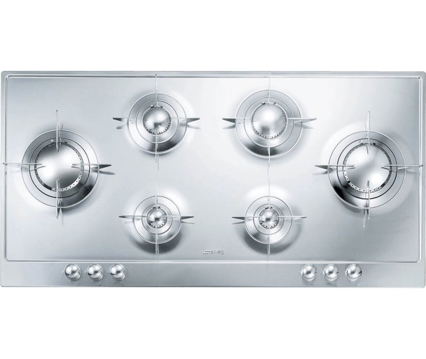 Smeg PNL106ES inbouw kookplaat